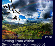 Flowing From Within(living water from waipo'o)
